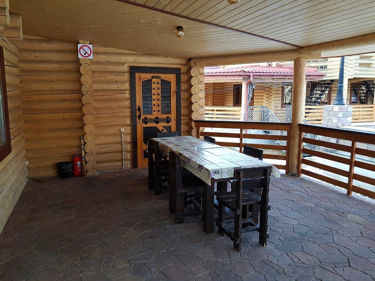 arenda doma s terrasoj i mangalom - Домики