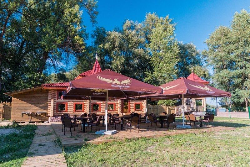 kafe fort pirnov park - Бани