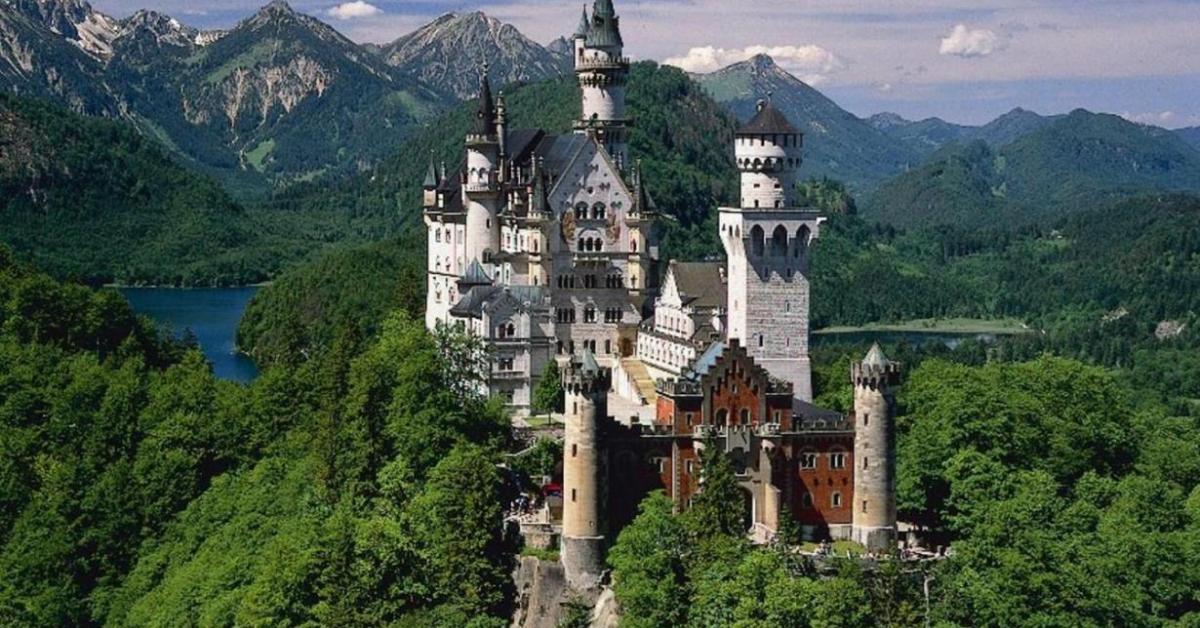 zamok nojshvanshtajn - Свадьба в замке