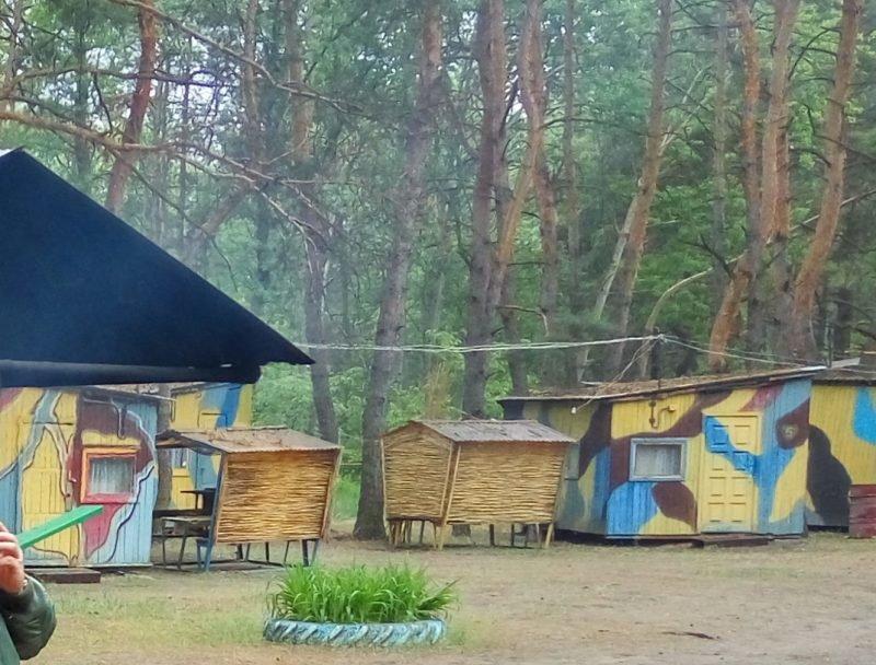 базы отдыха под Киевом