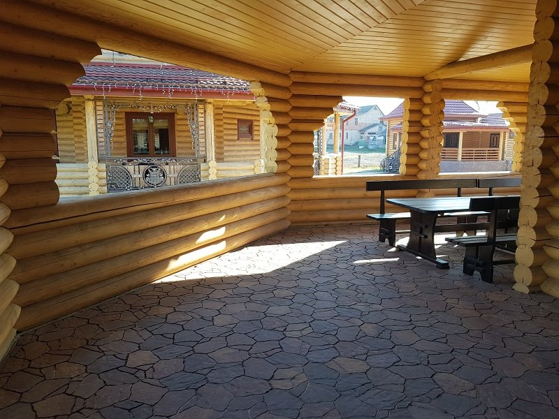 arenda terrasy pod banket - Домики