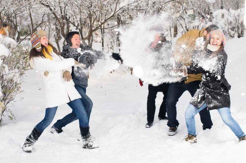 korporativ za gorodom zimoj e1604156800996 - Идеи для зимнего тимбилдинга на природе