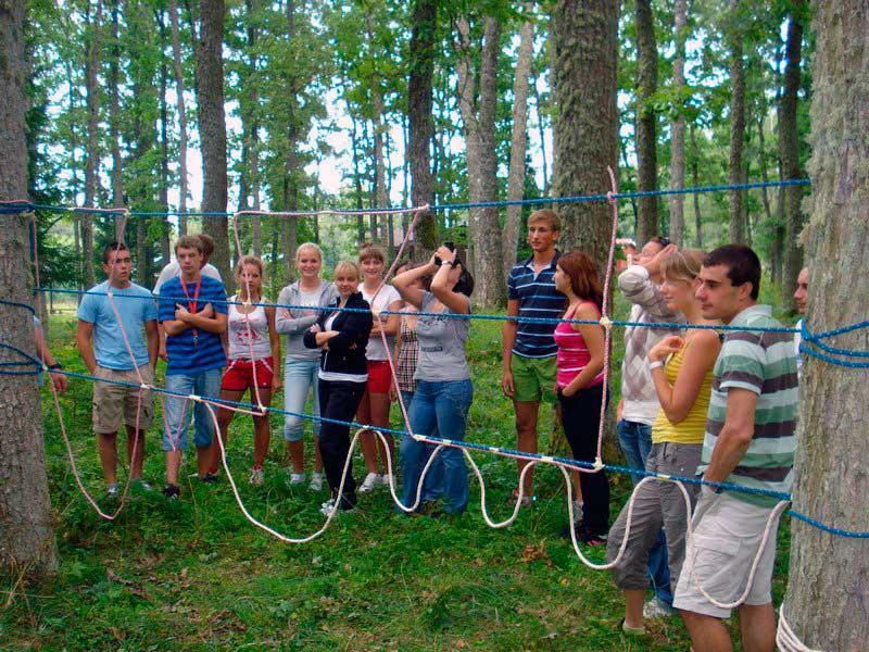 organizacija timbildinga na prirode 1 - Организация тимбилдинга на природе